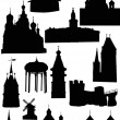 Old castles and towers — Stock Vector #1757504