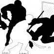 Royalty-Free Stock Vector Image: Hockey
