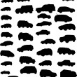 Royalty-Free Stock Vector Image: Cars isolated on white