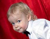 Schattige jongen — Stockfoto