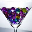 Martini with bubbles — Stock Photo