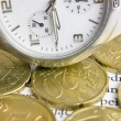 Royalty-Free Stock Photo: Time is money