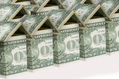 Geld-haus — Stockfoto