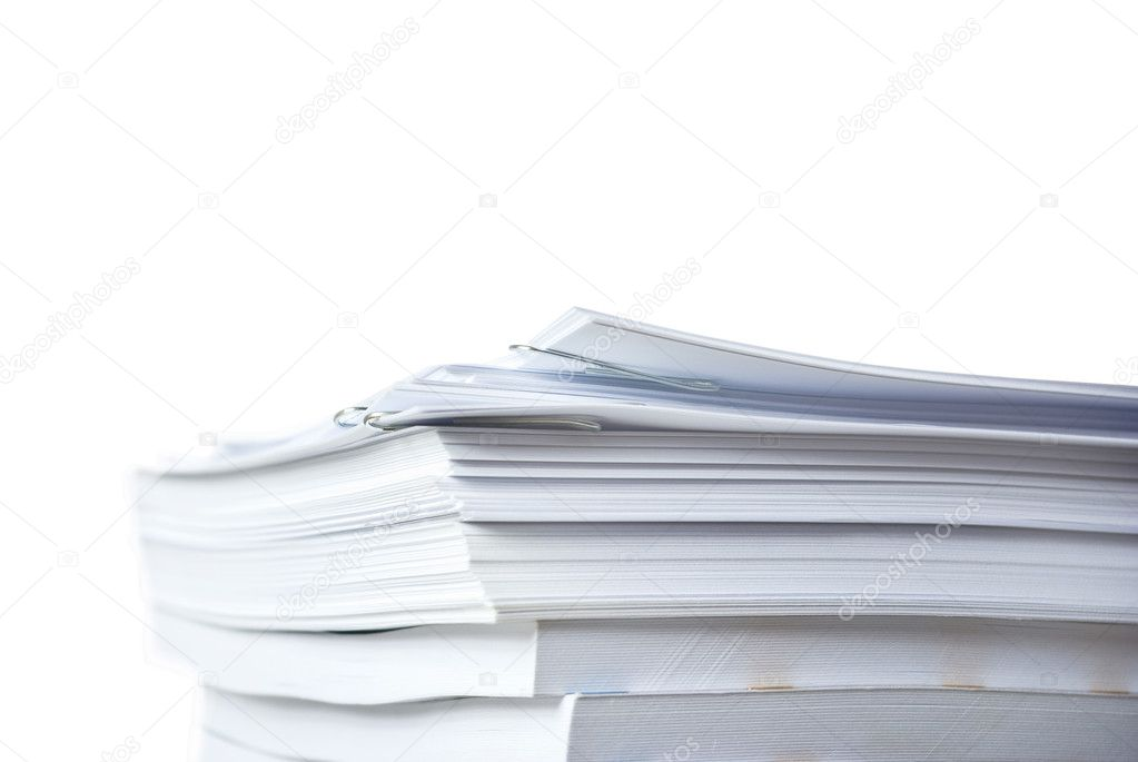 Big pile of paper documents — Stock Photo #1687843