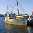 Stock Photo: Rusty ship
