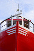 Fisher ship — Stock Photo