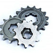 Stock Photo: Pile of gears