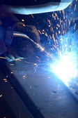 Welding — Stock Photo