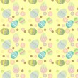 Royalty-Free Stock Vector Image: Seamless spring easter egg ornament