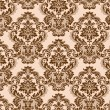 Seamless baroque background — Stok Vektör