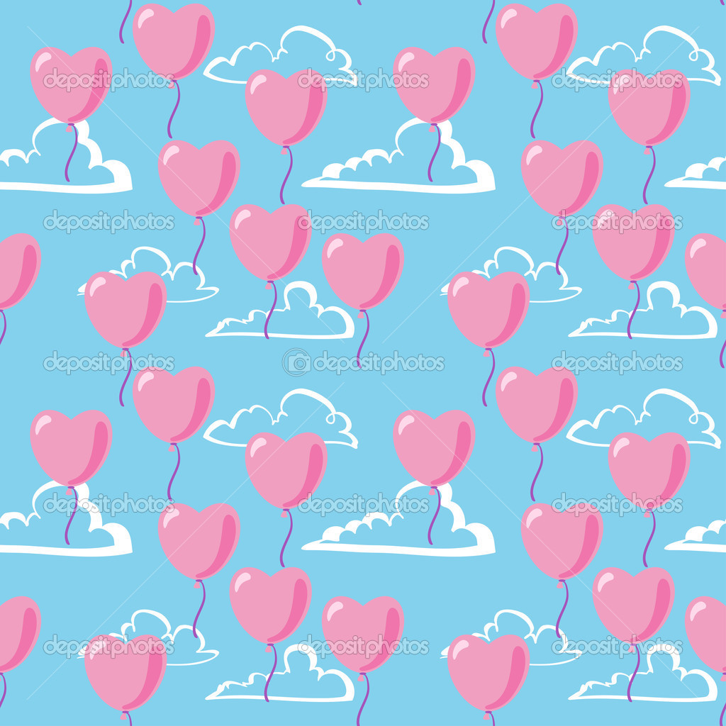 Valentine seamless pattern  Stock Vector #1881879