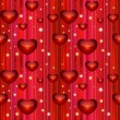 Valentine seamless background — Vettoriali Stock