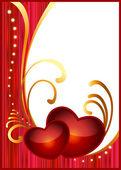 Card for Valentine's day. — Stockvektor