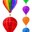 Balloons collection — Image vectorielle