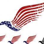 American eagle symbol — Stock Vector
