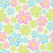 Flower seamless — Vector de stock #1731605
