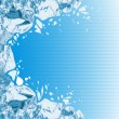 Breaking ice - Stock Vector