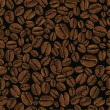 Coffee vector seamless - Vettoriali Stock