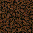 Coffee vector seamless — Vector de stock