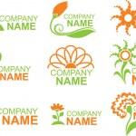Floral logos — Stock Vector #1735601