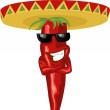 Mexican hot chili — Διανυσματικό Αρχείο