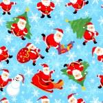 Vector santa seamless — Stock Vector #1736745
