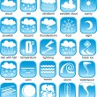 Vector de stock : Weather icon