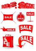 Sale symbols — Stock Vector