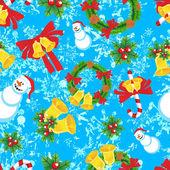圣诞无缝 — 图库矢量图片