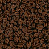 кофе вектор бесшовные — Cтоковый вектор