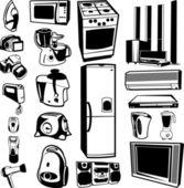Home appliances — Stock Vector