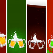 Stock Vector: Beer's banners