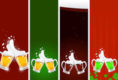 Beer's banners — Stock Vector