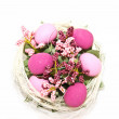 Easter egg decoration - Stock Photo