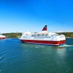 Cruise ships in Baltic sea — Stock Photo