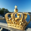 Royalty golden crown — Foto Stock
