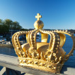 Royalty golden crown — Stockfoto