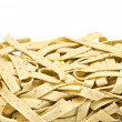 Fresh uncooked pasta - papardello — Stock Photo