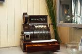 Ancient cash register — Stock Photo