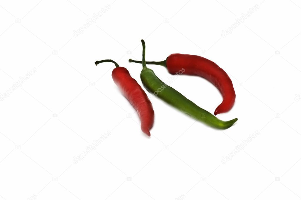 Hot chilli peppers — Stock Photo #1647285