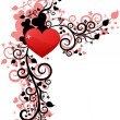 Royalty-Free Stock Vector Image: Heart love or Valentine\'s Day