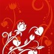 Valentine Day background - Stock Vector