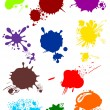 Various colorful blots — Stock Vector #1660129
