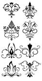 Collection patterns, design, decor — Stock Vector