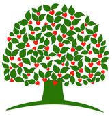 Love tree — Stock Vector
