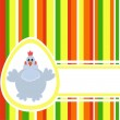 Colorful Easter background — Stock Vector