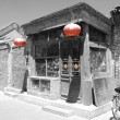 Old chinese shop - Stock Photo