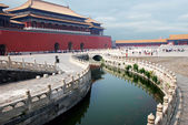 Forbidden city in beijing — Stockfoto