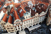 Praga roofs — Stock Photo