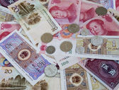 Chinese money yuan — Stock Photo